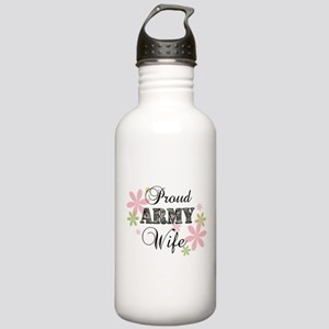 Army Wife [fl camo] Stainless Water Bottle 1.0L